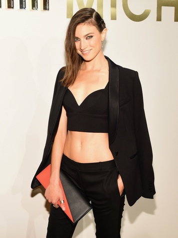 Jacquelyn Jablonski at launch of Michael Kors fragrance