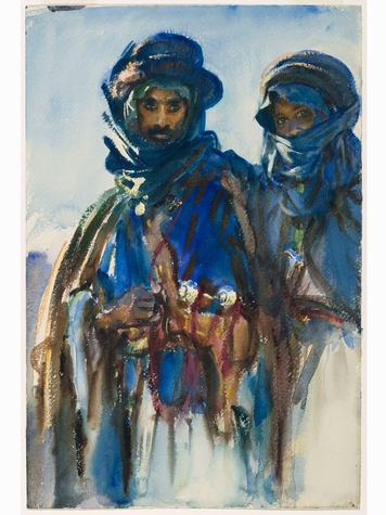 MFAH John Singer Sargent March 2014 Bedouins