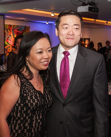 10 Miya Shay and Gene Wu at the UH Downtown 40th anniversary gala January 2015