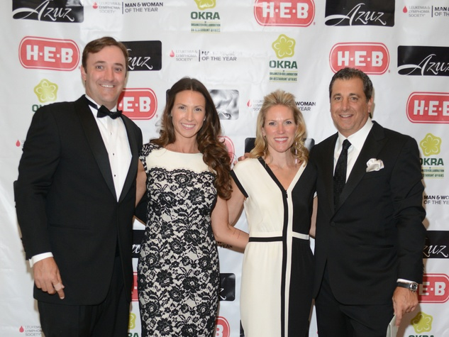 10 Matt and Lindsay Sturm, from left, and Erin and Mike Maggi at the Leukemia & Lymphoma Society Man and Woman of the Year Gala June 2014