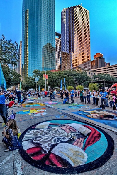 Slideshow via colori celebrates 10 years of bringing art for Pictures plus houston