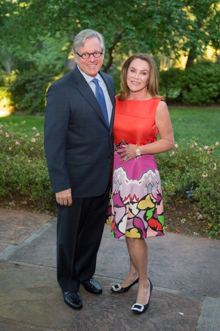 Bayou Bend Garden Party, April 2016, John Kotts, Colleen Kotts