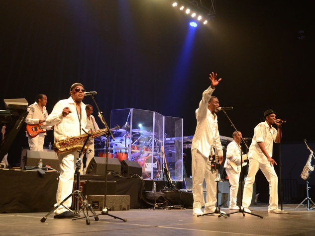 Kool & The Gang at the Children at Risk Gala with Kool and the Gang April 2014