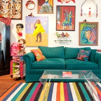 Austin Weird Home Tour_Queen of Weird_living room_Aralyn Hughes_Spring 2015
