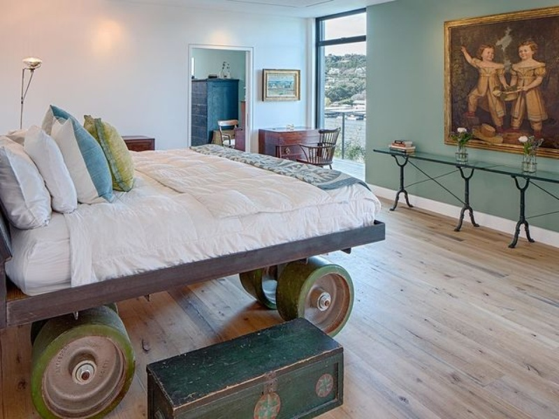 Austin cliff home Houzz bedroom