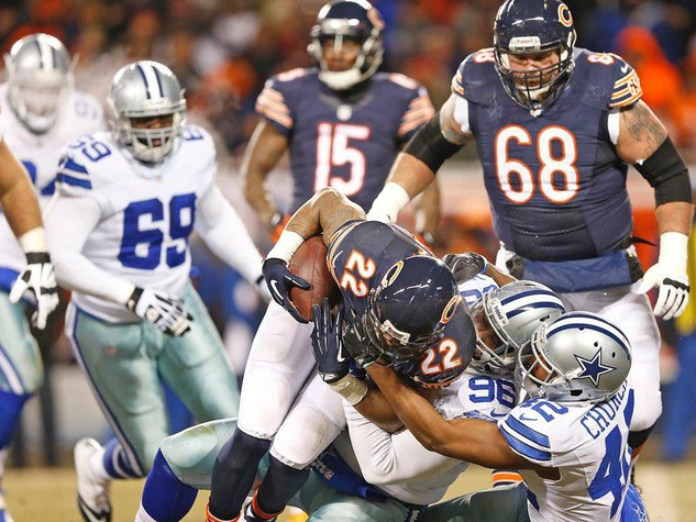 Dallas Cowboys vs Chicago Bears