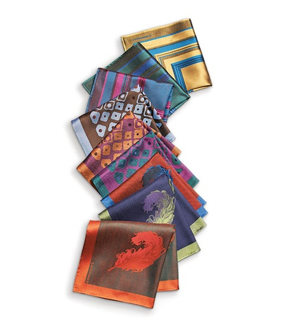 Ken Downing NM Massimo Bizzocchi Scarves