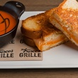 Del Frisco's Grille, tomato soup, grilled cheese sandwich, November 2012
