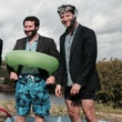 Houston Needs A Swimming Hole! with Monte Large, from left, Evan O'Neil and Jeff Kaplan November 2014