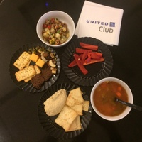 Sampling of new food offerings at United Club