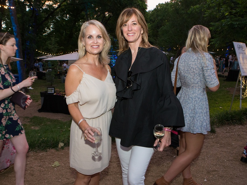 Umlauf Garden Party 2017 Dara Allen Diane Humphreys