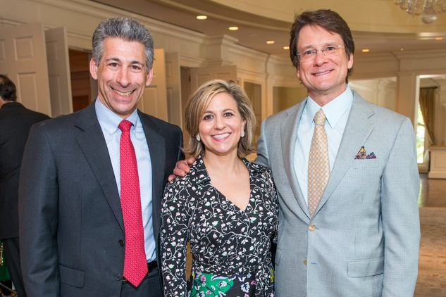 Houston, News, Shelby, Depelchin Children's Center Luncheon, May 2015, Joe Greenberg, Debra and Mark Gregg