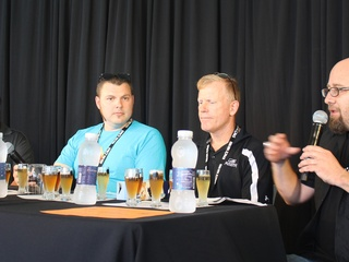 Brad Faberstein, Adam DeBower, Terry Nance and Bill Norris present For the Love of Beer