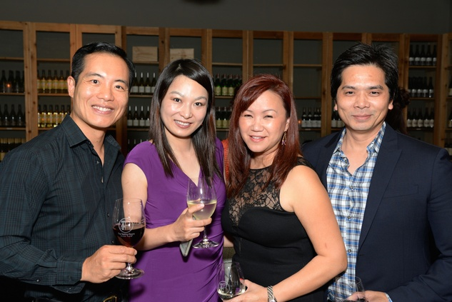 30 Dr. Michael and Cynthia Chang, from left, and Tammy and Wayne Nguyen at the KNOWAutism Foundation reception September 2014