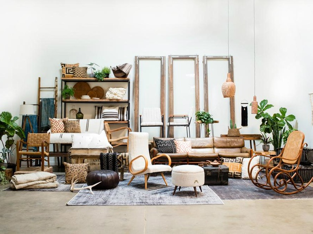 Austin 39 s largest purveyor of vintage goods debuts new home collection culturemap austin Home furniture rental austin texas