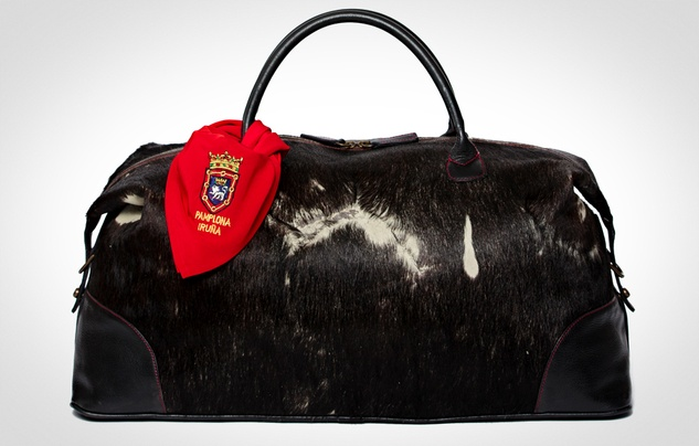 edition Moore & Giles' Pamplona Weekender bag