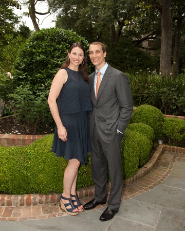 Houston, Junior League Legacy Salute, May 2015, Beth and Nick Zdeblick