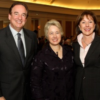 News_Houston Wilderness luncheon_February 2012_Alan Stein_Mayor Annise Parker_Elizabeth Stein