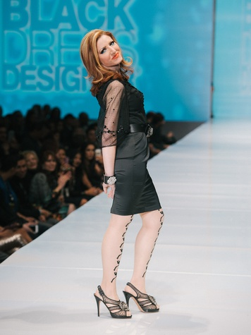 Yasmine Haddad at Little Black Dress Designer at Fashion Houston Nov 2014