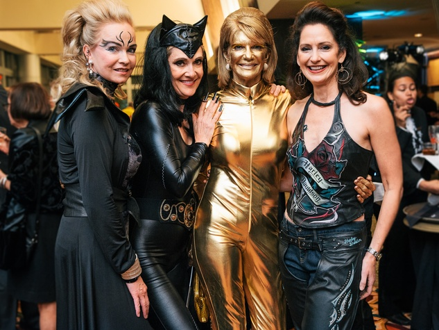 0011, Ronald McDonald House Boo Ball, October 2012, Alice Mosing, Jana Arnoldy, Kim Tutcher, Laurie Morian