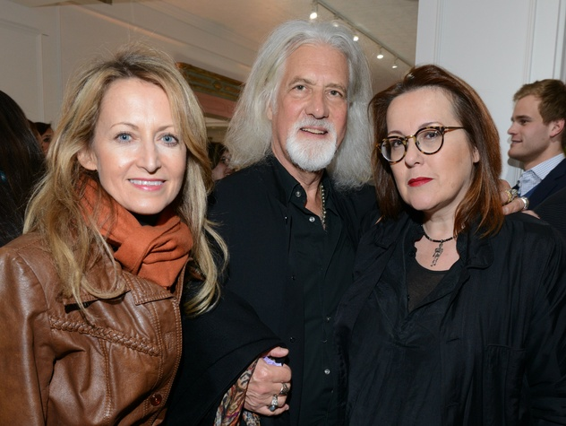 Lynn McBee, David Edlestein, Catherine Michiels, Ylang 23 opening