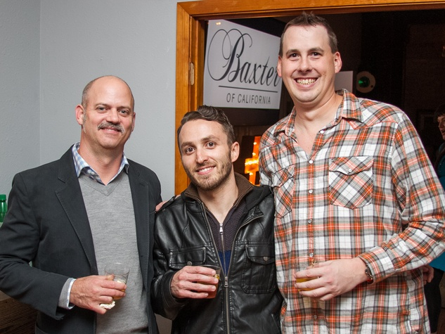 Woodford Reserve Movember Event at Kunst Gallery Don Lapace John Carrales