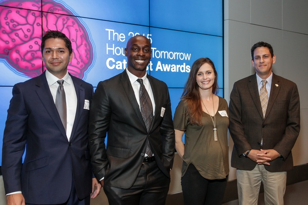 Houston, Houston Tomorrow Catalyst Finalists, October 2015, Eric Melchor, Gregory Jones Jr., Libby Kennedy, Jaime Gonzalez