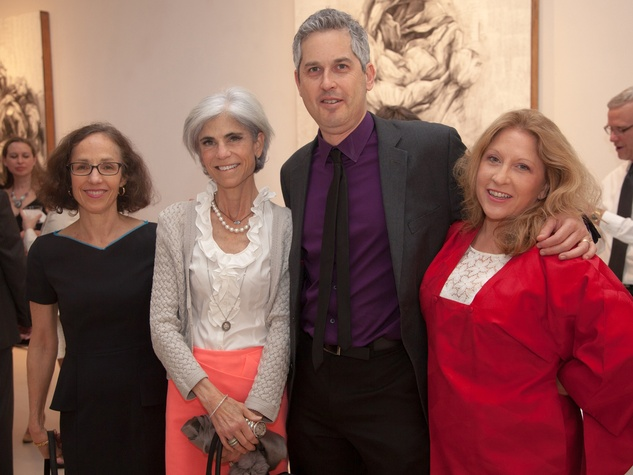 13 Alison Bieser, from left, Judy Nyquist, Tony Brandt and Karol Bennett at Musiqa's Spring Benefit May 2014