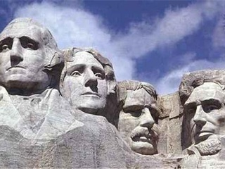 Austin Photo Set: News_Mike_presidents day_feb 2012_mount rushmore