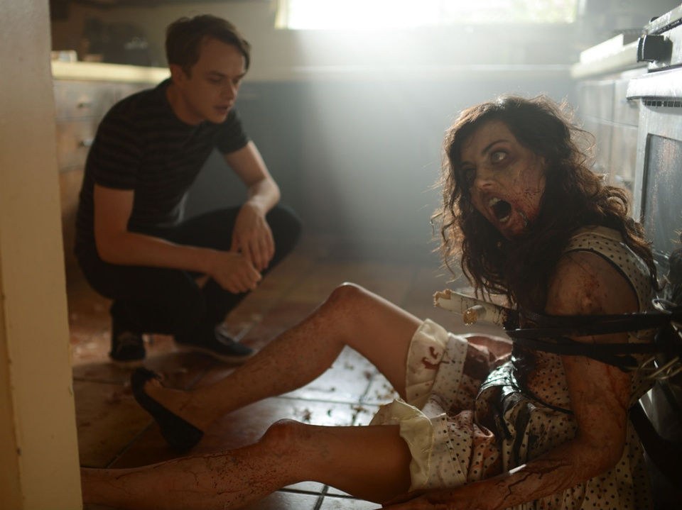 Dane DeHaan and Aubrey Plaza in Life After Beth