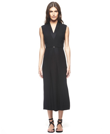 Calvin Klein, Francisco Costa, black dress, Macy's, June 2012