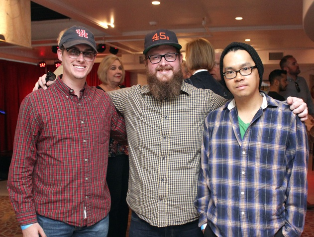 Houston, Mark C Austin Birthday Charity Concert, March 2017, Brandon Franz, Cody Franz, Jonathan Chan