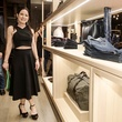 Jodie Eisenhardt at Lucchese store opening