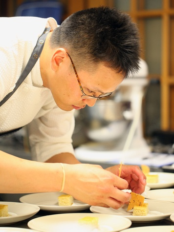 Chris Leung pastry chef