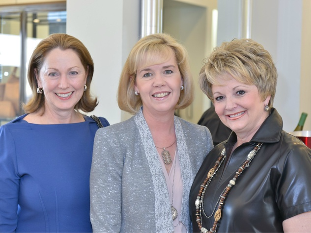 Linda Secrest, Christie Carter, Jan Baldwin, Can Do Kickoff at Tootsies