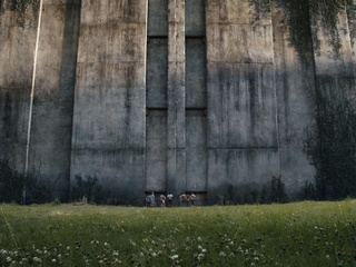 Scene from The Maze Runner
