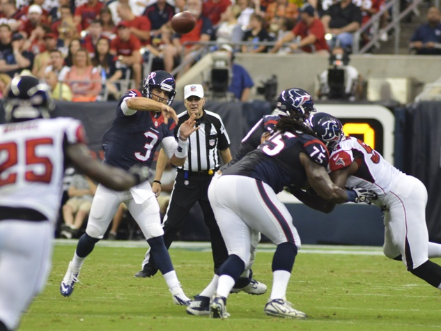 Tom Savage Texans Falcons Throw