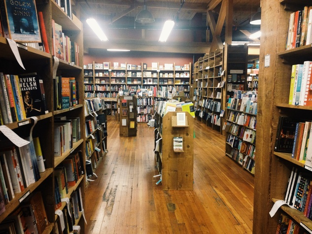Elliott Bay Book Company Seattle Washington