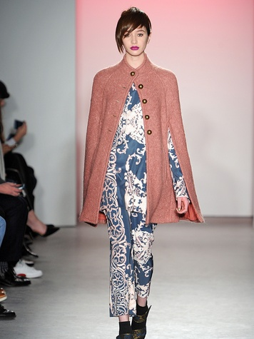Clifford New York Fashion Week fall 2015 Nanette Lepore March 2015 Look 4