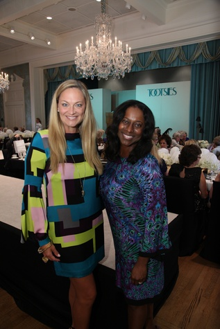 18 Rachel Regan, left, and Nicole Walters at the Junior League Fall Luncheon September 2014