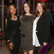 Annika Cail, Sara Friedman and Katy Duvall, museum tower partners card party