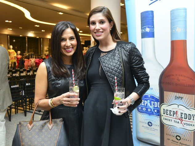 8 Julie Chen, left, and Camille Connelly at the Dec My Room Fashion Show February 2014