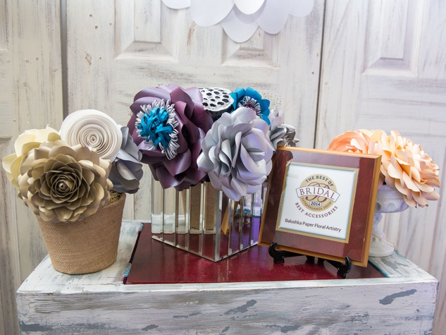 11 Display at the Paper Flower Artistry January 2015