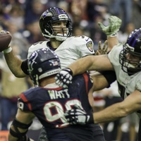 Joe Flacco Watt Texans