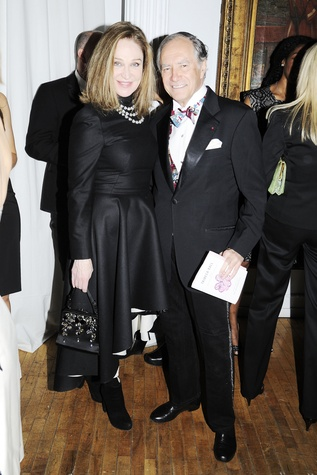 Becca Cason Thrash and Kip Forbes at the Tribeca Ball New York May 2014