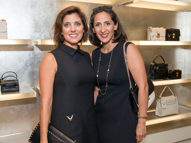 News, SHelby, Heart of Fashion, Valentino, Sept. 2015, Stacey Lindseth and Beatrice Reiner