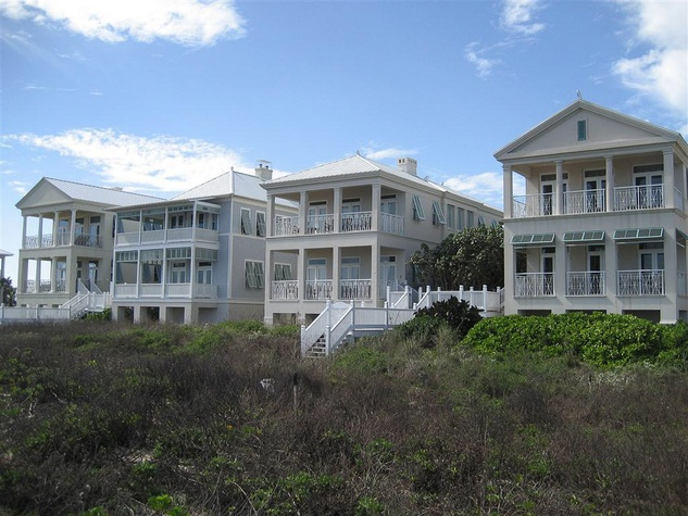 South Padre Island beach homes