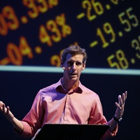 Show4 Kai Ryssdal at the Marketplace Show October 2014