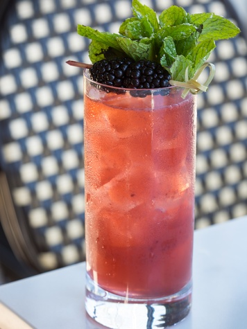 Houston, new brunches, May 2017, Brasserie du parc, cobbler cocktail