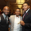 10 Kendrick Clack, from left, Harrison Guy and Russell Cotton at the World AIDS Day luncheon.
